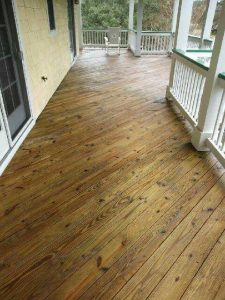 Carolina Pro Clean power washed deck 3