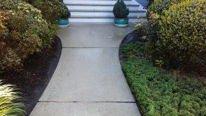 Carolina Pro Clean power washed walkway