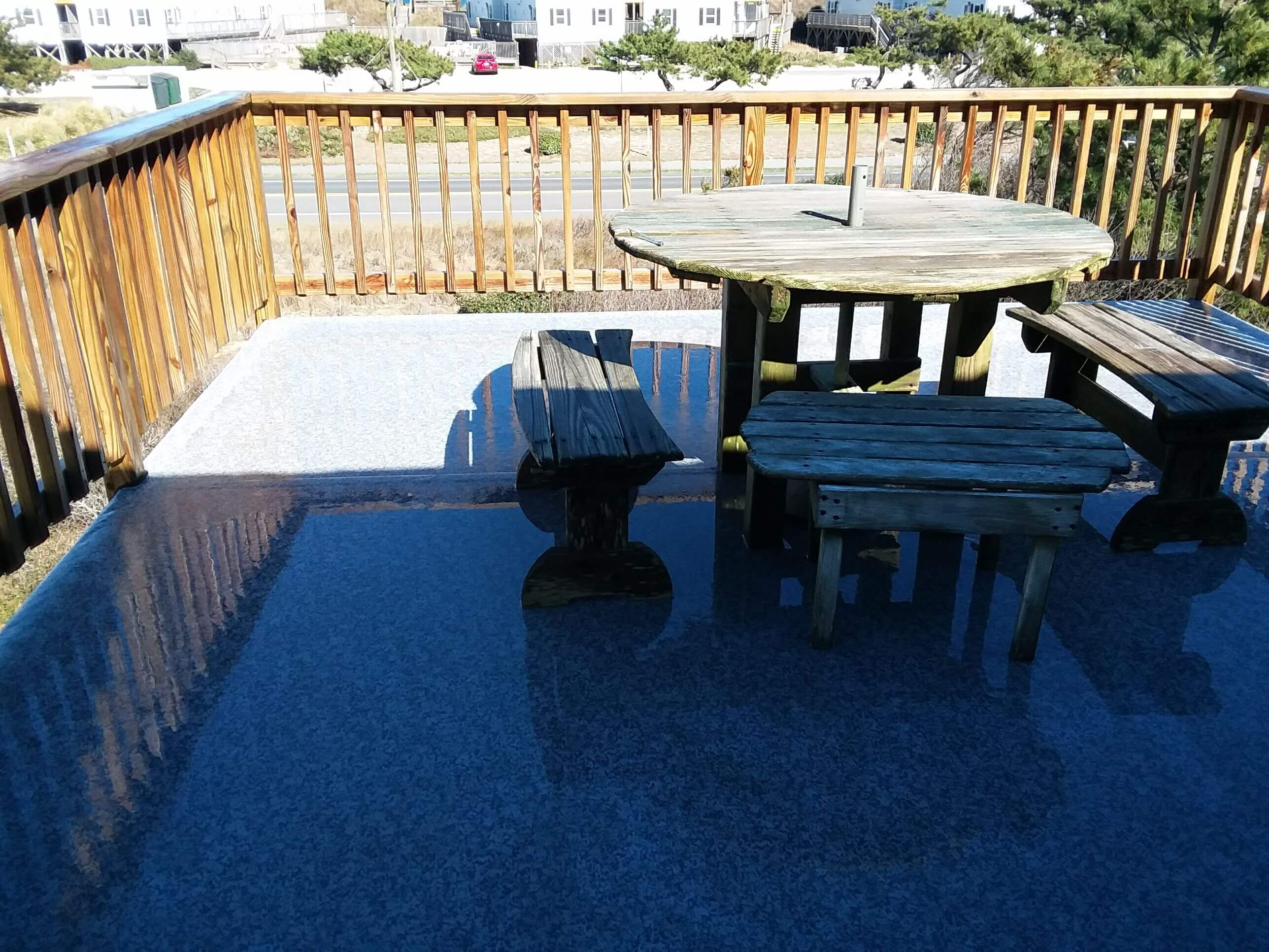 Carolina Pro Clean pressure washed deck 10