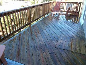 Carolina Pro Clean pressure washed deck 11