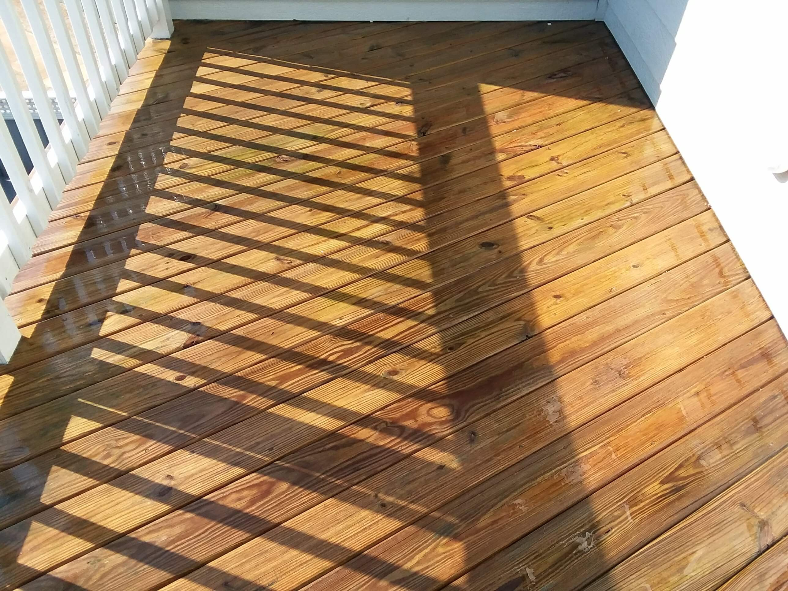 Carolina Pro Clean pressure washed deck 13