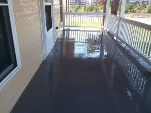 Carolina Pro Clean pressure washed deck 5