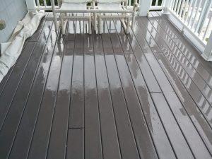 Carolina Pro Clean pressure washed deck 7