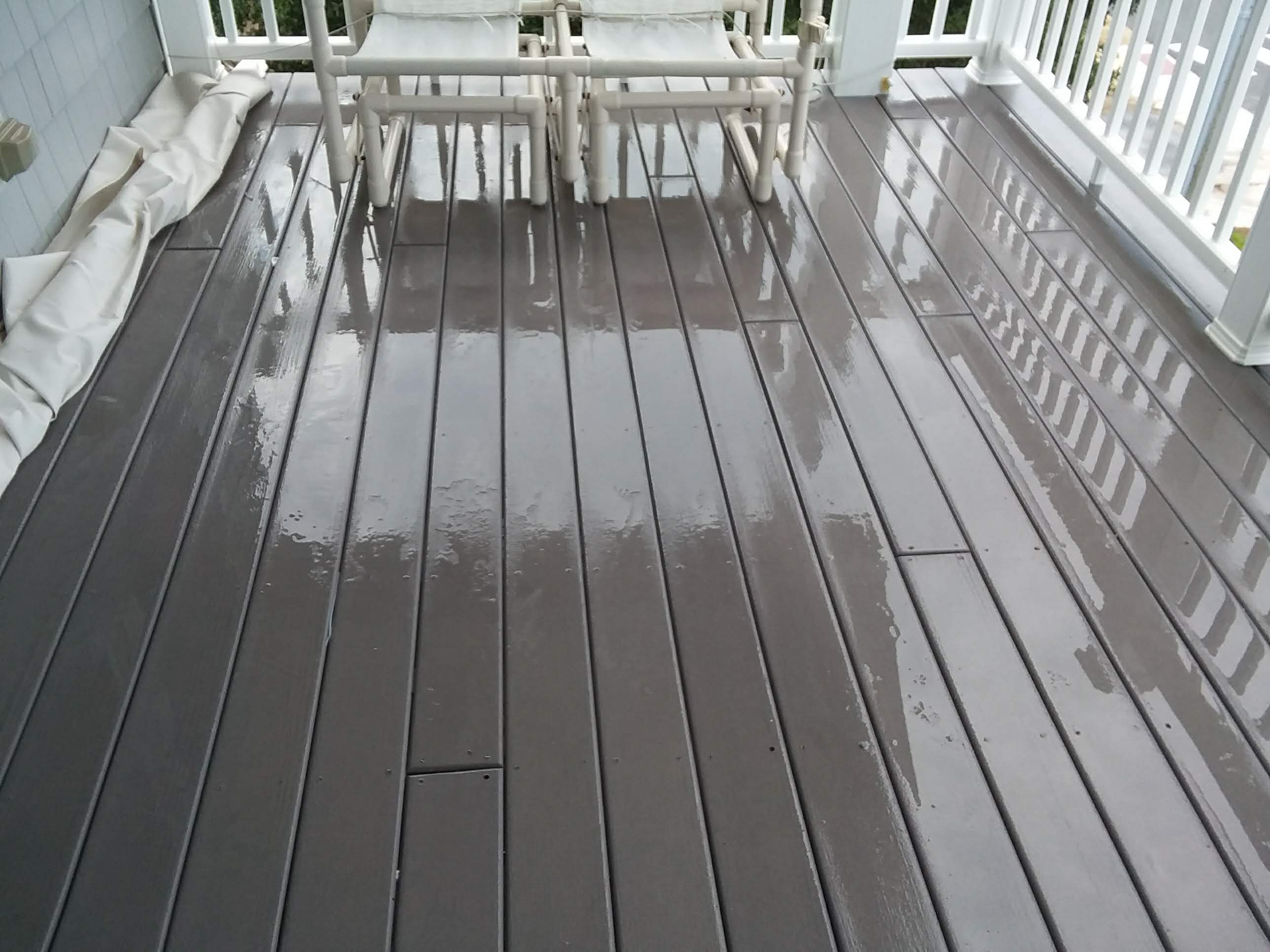 Carolina Pro Clean pressure washed deck 7