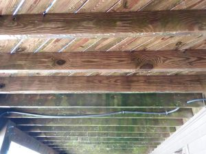 Carolina Pro Clean pressure washed deck 8