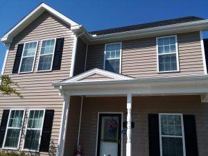 Carolina Pro Clean pressure washed house 17