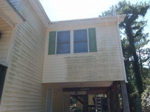 Carolina Pro Clean pressure washed house 23