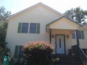 Carolina Pro Clean pressure washed house 25