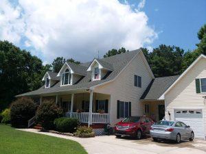 Carolina Pro Clean pressure washed house 27