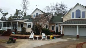 Carolina Pro Clean pressure washed house 43
