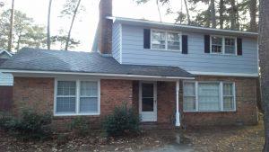 Carolina Pro Clean pressure washed house 48