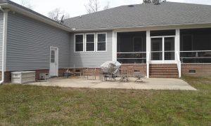 Carolina Pro Clean pressure washed house 7