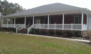Carolina Pro Clean pressure washed house 8