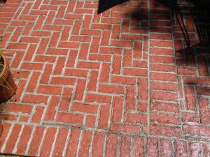 Carolina Pro Clean pressure washed patio 1