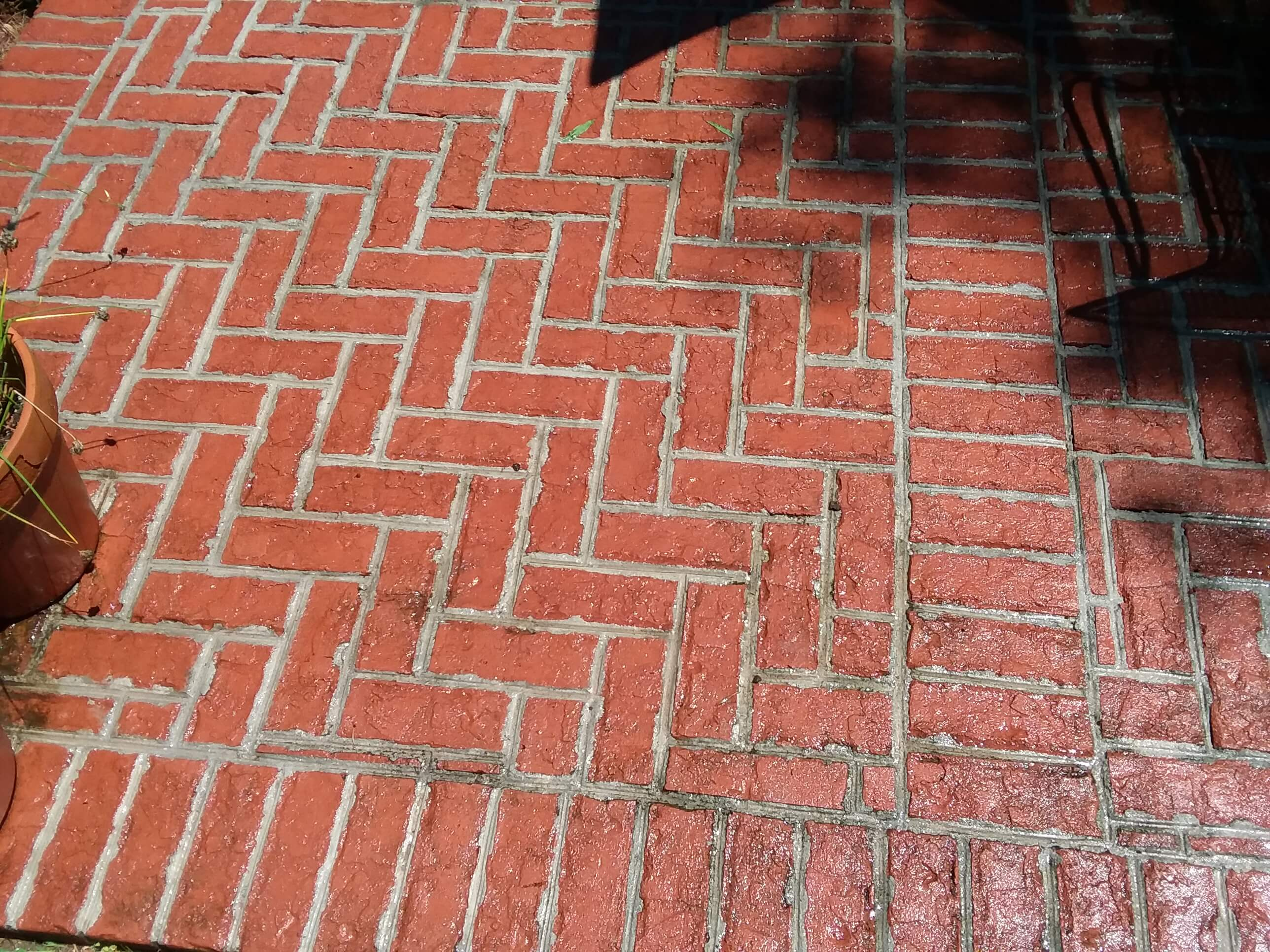 Carolina Pro Clean pressure washed patio 1