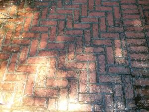 Carolina Pro Clean pressure washed patio 2